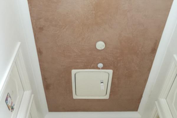 Plastered Ceiling Around Loft Hatch